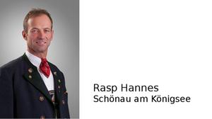 Rasp Hannes